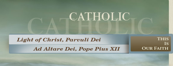 Catholic - This is Our Faith